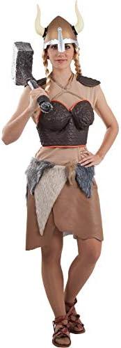 DISBACANAL Disfraz vikinga guerrera - -, M: Amazon.es: Juguetes ...