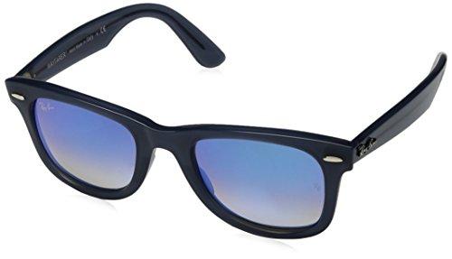 Ray-Ban RB4340 Wayfarer Ease Sunglasses, Blue/Blue Gradient Flash, 50 mm (Wayfarer Sunglases)