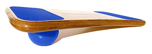 CoolBoard Balance Board –The only true 3D / 360 balance & exercise training board – Medium with Standard Speed 5 inch Pro Ball. Wobble Board, rocker board, balance trainer, snowboard by CoolBoard