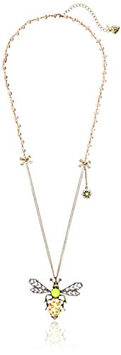 Betsey-Johnson-Vintage-Bugs-Long-Pendant-Necklace-32