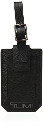 (TUMI - Province Luggage Tag - Suitcase Identifier for Men and Women - Black)