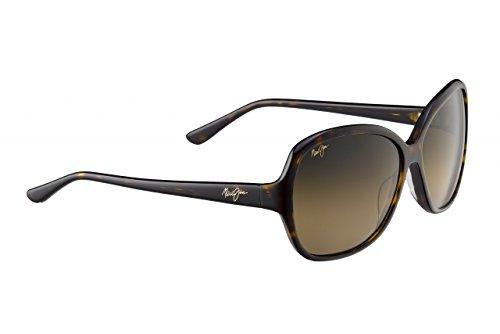 Maui Jim Maile Sunglasses, Dark Tortoise/HCL Bronze, One - Jim Maui Ocean