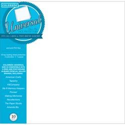 12' Postbound Scrapbook - Bulk Buy: Colorbok (3-Pack) 12in. x 12in. Refill Pages 10/Pkg 62051B