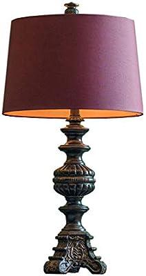 Lámpara de Mesa, lámpara de Mesa de Lectura de Estilo romántico ...