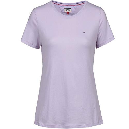 Jeans Soft Femme Violett pastel Jersey Tee 575 Tjw Tommy Lilac T shirt FqwdB77xZ