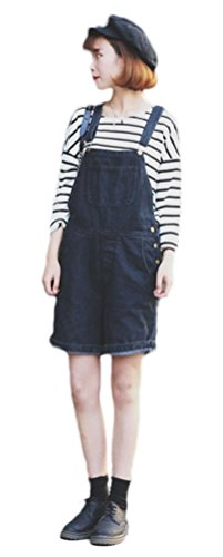 Soojun Womens Casual Overalls Shorts