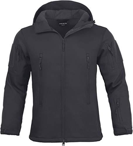 (Tactical Jacket for Men Water Repellent Windproof Coat Big Tall Mens Fleece Lined Softshell Jackets )