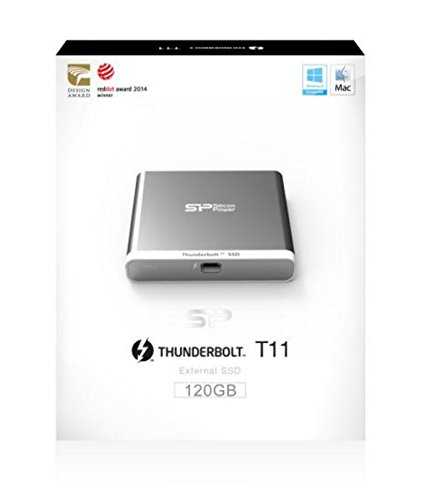 120GB Silicon Power T11 External SSD for Mac Thunderbolt Interface by Silicon Power (Image #5)