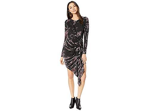 (Young Fabulous & Broke Women's Yumi Dress, Jam Wind, Black, Print, Small)