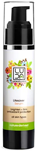 - Luca Wellness Lifesaver Facial Serum - Anti-Aging Serum to Brighten, Visibly Firm & Deliver All Day Hydration. With Naturally Derived Extracts & Oils. Forest Honey provides antioxidant protection.