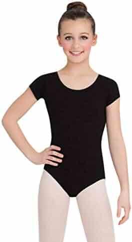 Capezio Big Girls' Classic Short Sleeve Leotard