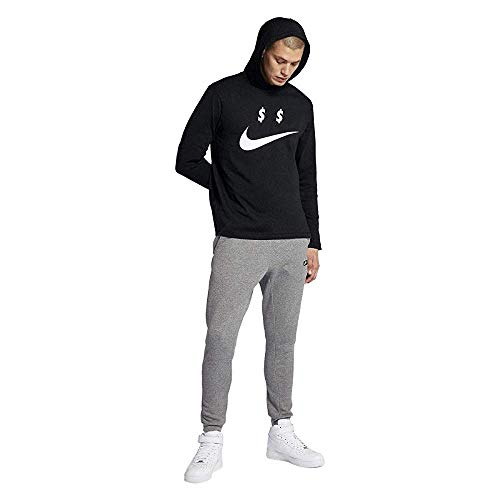 Nike 6.0 Logo T-Shirt - Short-Sleeve - Men's (X-Large, Black White)
