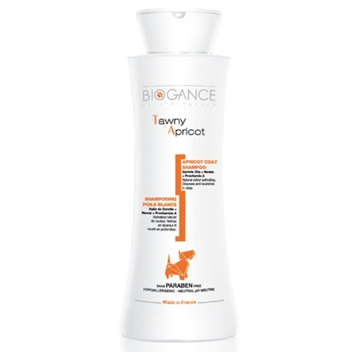 Biogance shampooing pour chien poil Abricot Tawny Apricot 250ml