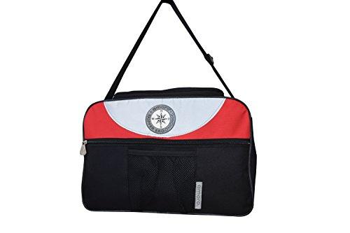 Suitcase nero rosso nero Amaro 386800 adPYqqw
