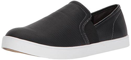 Dr. Scholl's Shoes Women's Luna Sneaker, Black Lizard Print, 8.5