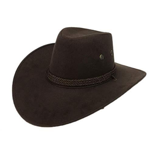 Cool Western Cowboy Hats Men Sun Visor Cap Women Travel Performance Western Hat ()