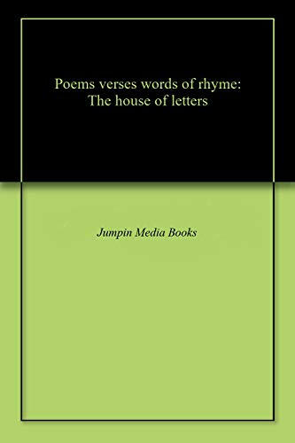 Amazoncom Poems Verses Words Of Rhyme The House Of Letters Ebook