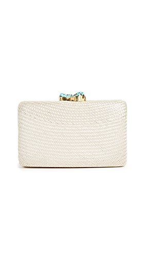 Kayu Women's Jen Clutch, White, One Size by Kayu