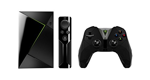 NVIDIA SHIELD TV 4K HDR Streaming Media Player with Remote and Game Controller