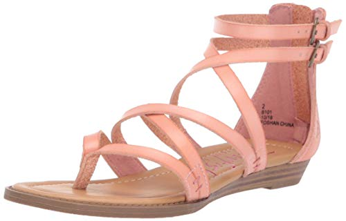 Blowfish Kids Girls' Bungalow-k Sandal Terracotta Dyecut Polyurethane 13 Medium US Little Kid