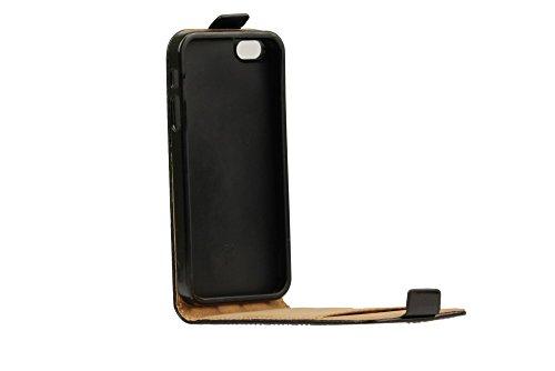 Flip Case TPU Flexi Fresh Slim Klapp Etui Magnet Handy Tasche Schutz Hülle Cover Apple iPhone 5/5S