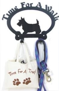 Scottish Terrier Time For A Walk Leash Hook, My Pet Supplies
