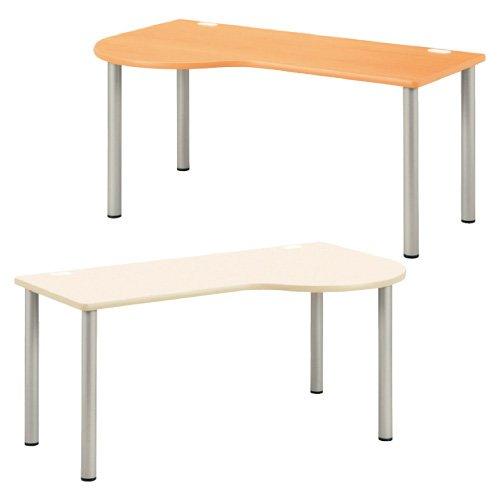 ドクターテーブル(左R) NSD-1490L(140X90X70) (R) アイボリー(23-5113-01-01)【ニシキ工業】[1台単位]   B010AOE5I8