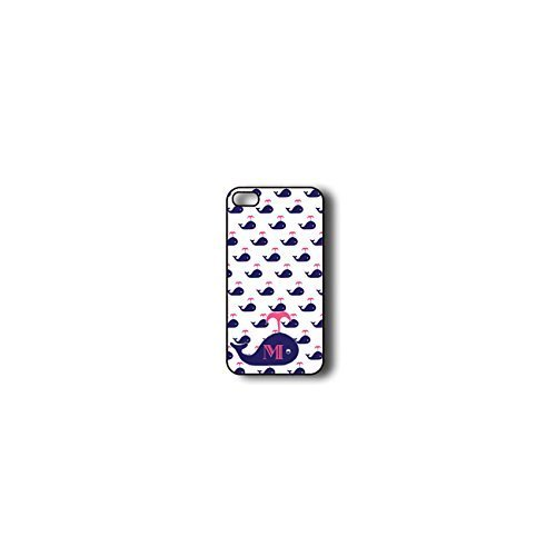 Krezy Case Monogram iPhone 5c Case, Colorful whale Monogram iPhone 5c Case, Monogram iPhone 5c Case, iPhone 5c...