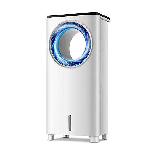 QFLY Portable evaporative Air Cooler Air Conditioning Fan Household Air Cooler Dormitory Mobile Cooling Fan Small Single Cold Air Conditioning (Color : Mechanical Models)