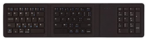 Kanex MultiSync Foldable Travel Keyboard with Full Number Pad