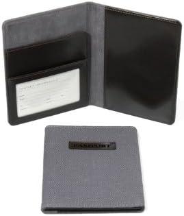 Swing Design Passport Holder Hudson Gray