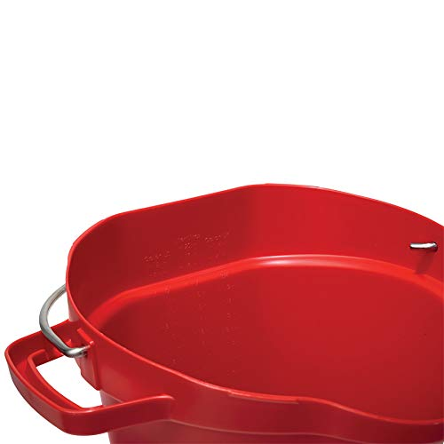 Vikan® Polypropylene Red 5 Gallon Pail