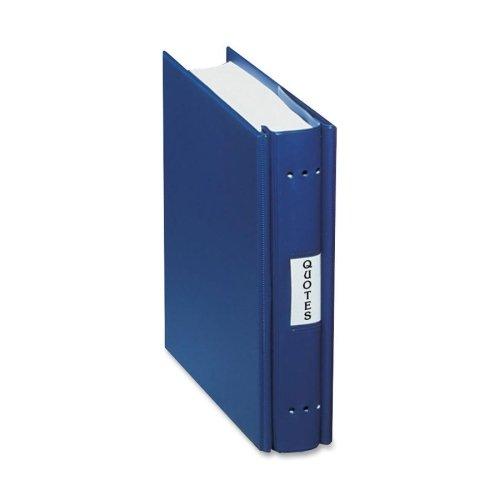 Wholesale CASE of 10 - Charles Leonard Varicap Expandable Post Binders-Varicap 6'' Expandable Binder, 1''-6'' Cap, 11''x8-1/2'', Blue