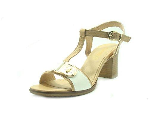 IGI&Co , Damen Sandalen bianco camel