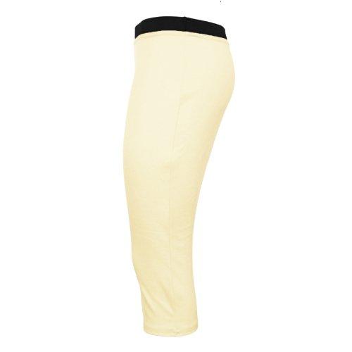 longue mi Runway Crme jupe unie moulante Splash pour Pour bureau femme extensible crayon 0xfYH0r