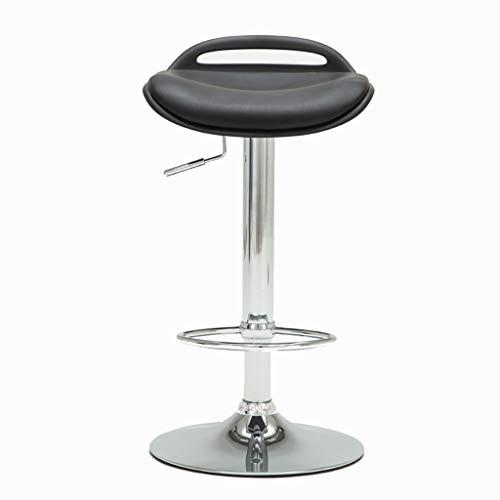 Bathtub Rails Bar Chair Breakfast Chair Office Chair Computer Chair Lift Front Desk Chair Home Chair Beauty Salon Stool 360° Rotation Can Bear 120 Kg (Color : Black, Size : -