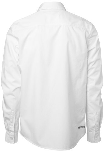 Lunga shirt Bianco Manica Ferrari T g7wq7Uv