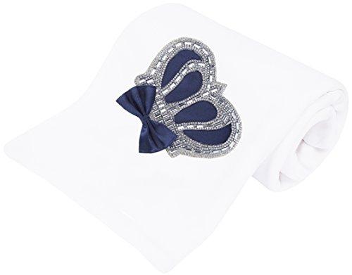 (Lilax Baby Boy Newborn Crown Jewels Swaddle Receiving Blanket)
