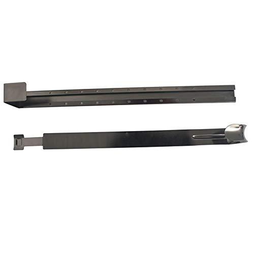 Kranz JYCRA Metall-Kranz-Aufh/änger f/ür T/ür verstellbar /über T/ürhaken Kranz Haken f/ür Weihnachten L/änge von 37 cm bis 63,5 cm Dekoration