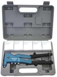 Hand Riveter Tool, 3/32, 1/8, 5/32, 3/16 In