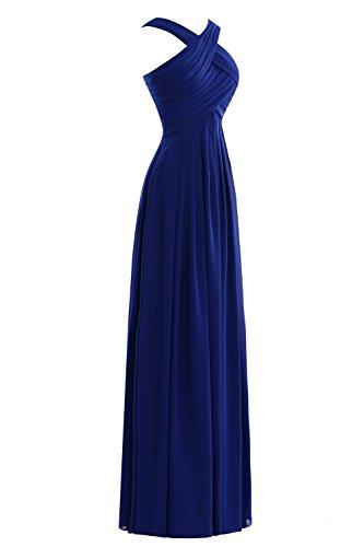Chiffon Party Women´s Bridal Guest Wedding Grey Ruched Dora Prom Dress Steel xwt67q7O4g