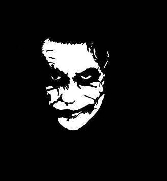 Amazoncom The Joker Batman Vinyl Decal StickerWalls Cars Trucks - Batman vinyl decal stickers