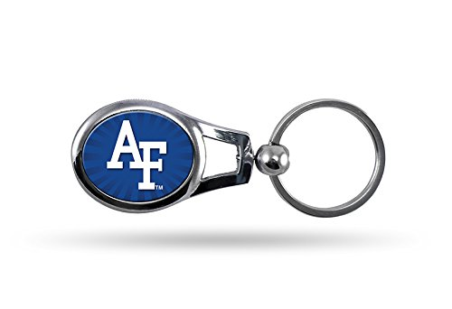NCAA Air Force Falcons Metal Oval Keychain - Air Force Falcons Keychain