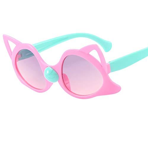 Fluted Rim Saucer - Children Glasses, Vintage Sunglasses For Child, Kids Retro Sunglasses Radiation Protection Sunglasses YOcheerful