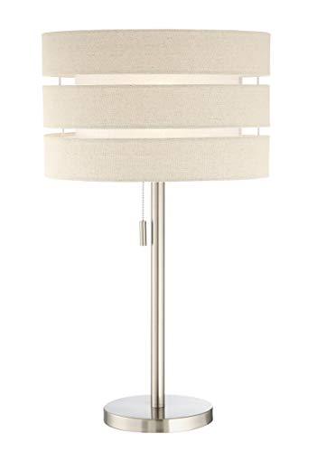 Source Drum Lite - Lite Source Falan Brushed Nickel Modern Table Lamp