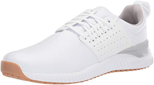 adidas Men's Adicross Bounce Golf Shoe FTWR White/Grey Two/Gum 10.5 M US