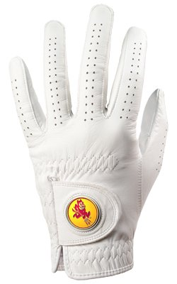 Arizona State Sun Devils Golf Glove & Ball Marker - Left Hand - X Large   B00BFLFTAY