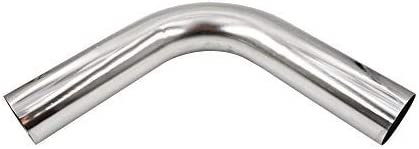 """4/' Feet Long Stainless Steel Straight Exhaust Piping Tube Pipe T304 3/"""" OD 76mm"""