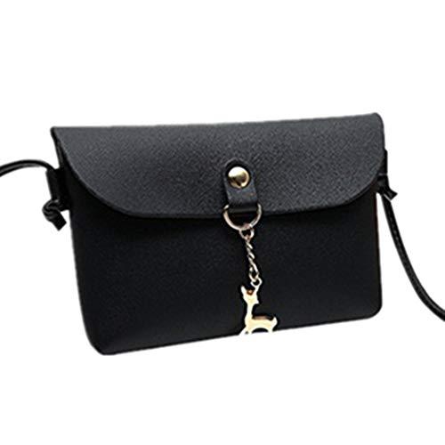 portable Porte bandoulière à Noir deer à sac main transversale sac monnaie mioim couleur de de bonbon section mignon femme téléphone ZqASEWHa