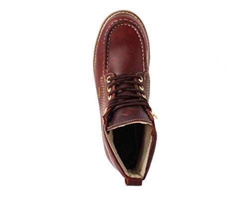 Leather Welt Work Boot Goodyear Construction Mens Resistant Industrial 6 Bonanza Boots Burgundy Premium Slip Moc q7Xn8p